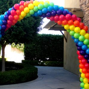 cách làm cổng bong bóng cho tiệc sinh nhật