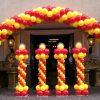 mẫu cổng bong bóng đám cưới