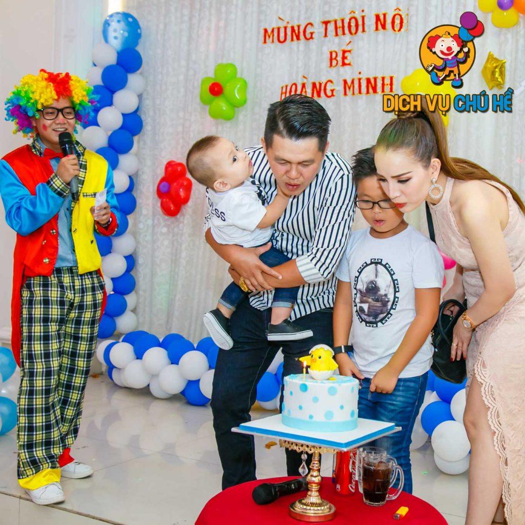dịch vụ chú hề - dịch vụ tổ chức sinh nhật cho bé