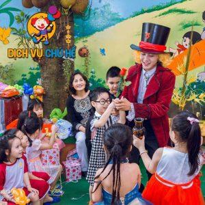 thuê chú hề ảo thuật, ảo thuật gia cho tiệc sinh nhật