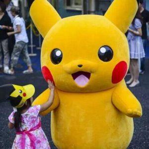 thuê thú nhồi bông mascot tiệc sinh nhật thôi nôi