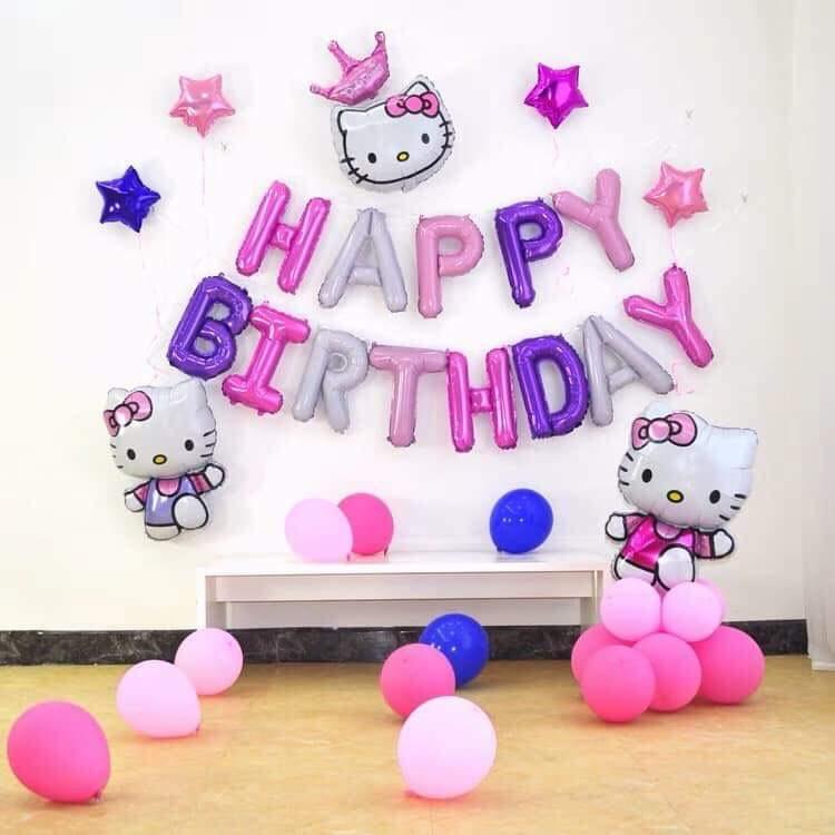 Phụ kiện trang trí sinh nhật cho bé gái
